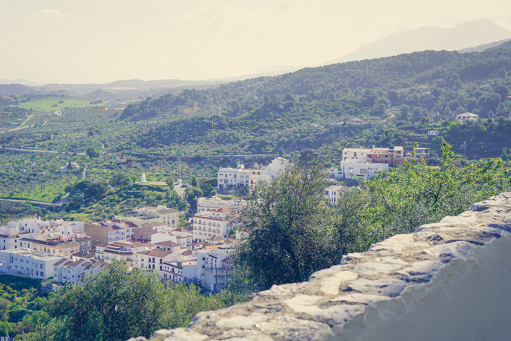 Prachtig uitzicht vanaf Castillo de Monda