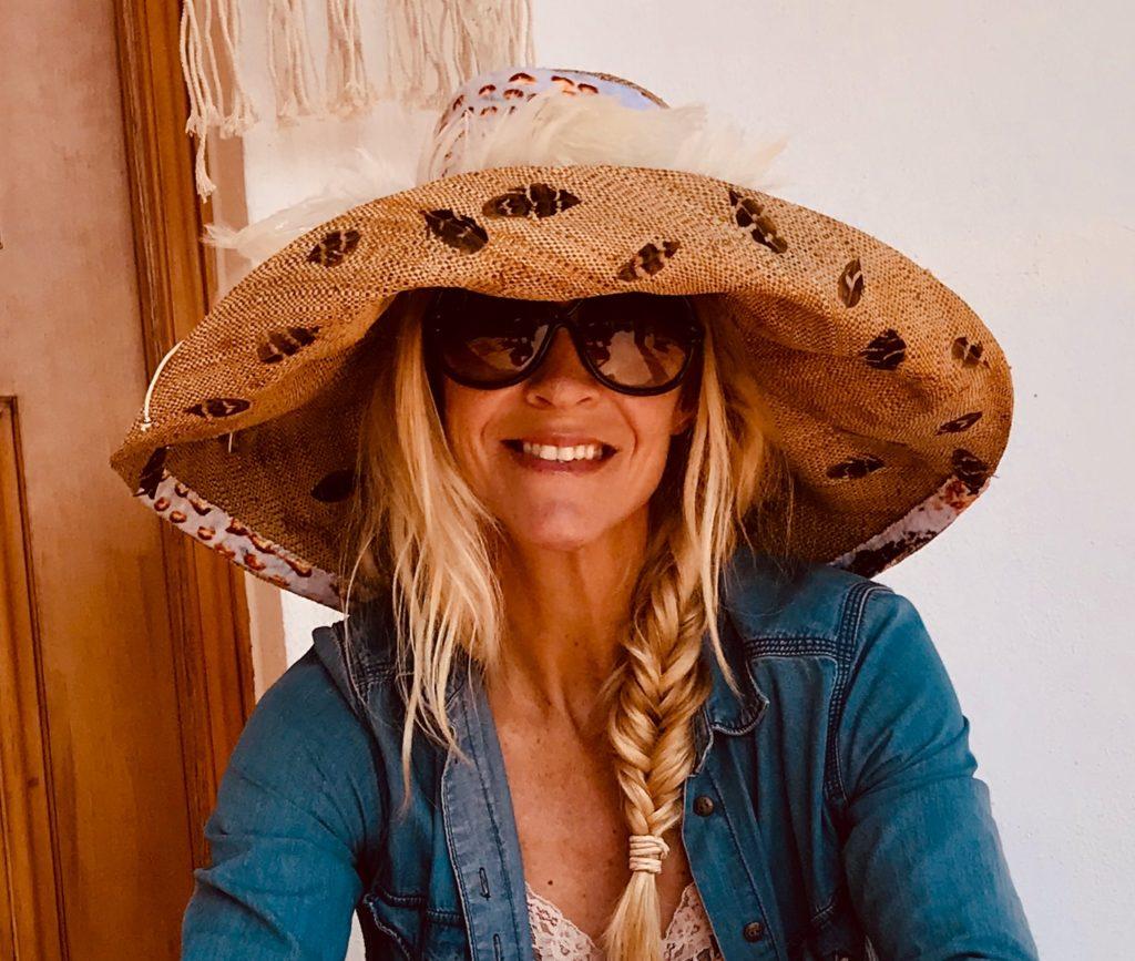 Eva Meenhorst met hoed