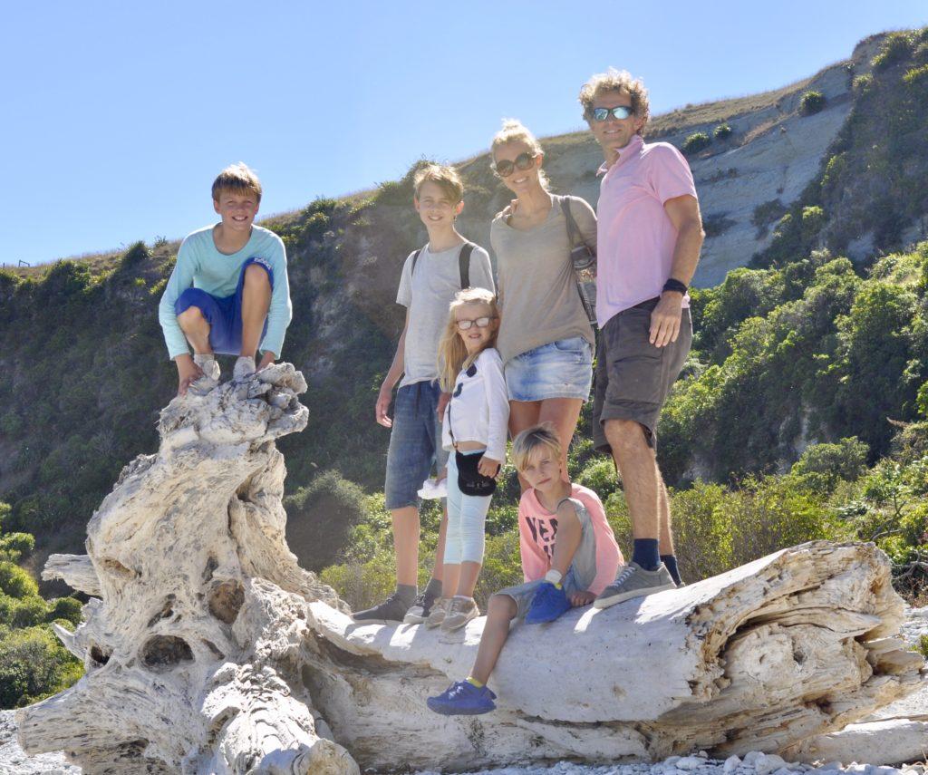 Familie van Eva Meenhorst op reis