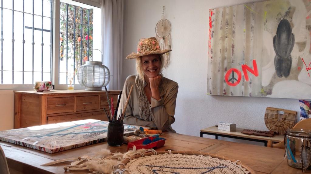 Kunstenares Eva Meenhorst
